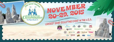 Fort Myers Beach Sand Sculpting