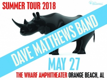 Dave Matthews Band at The Wharf Amphitheater in Orange Beach Alabama