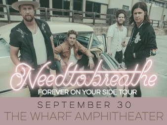 NEEDTOBREATHE The Wharf Amphitheater Orange Beach Alabama