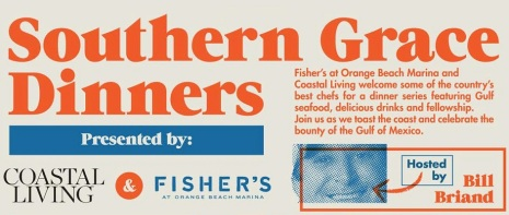 Southern Grace Dinners, Fisher's at Orange Beach Marina