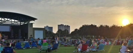 Summer Concert Series at Aaron Bessant Park in Panama City Beach Florida