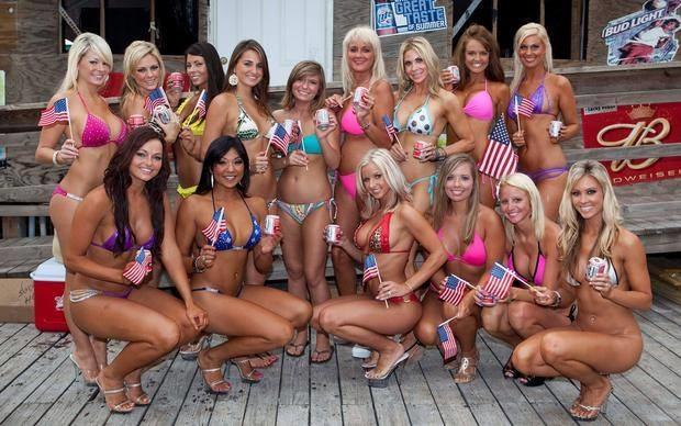Memorial day bikini